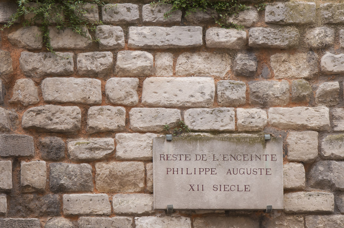 La Muraille de Philippe Auguste