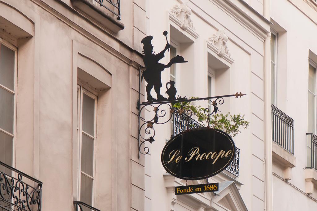 Le Procope, premier café de Paris